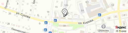 Стекло Зеркала на карте Ленинска-Кузнецкого