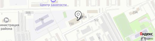 Атлант Сервис на карте Кемерово