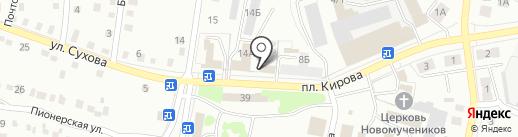 Художественная мастерская на карте Ленинска-Кузнецкого