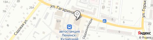 Совкомбанк на карте Ленинска-Кузнецкого