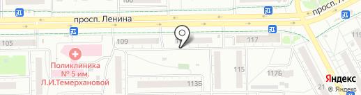 Дельта Мьюзик на карте Кемерово