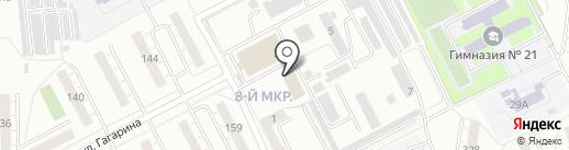 Академия Рекламы на карте Кемерово