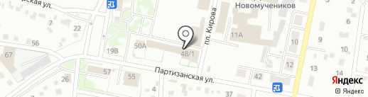 Сибавтосервис на карте Ленинска-Кузнецкого