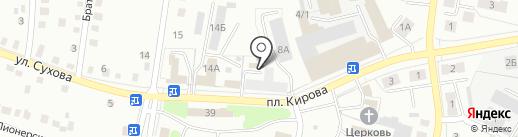 Мастерская по изготовлению памятников на карте Ленинска-Кузнецкого