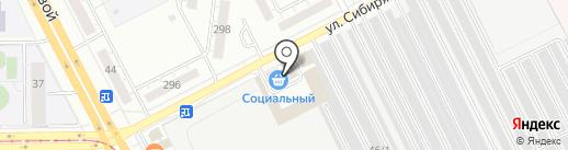Премьер на карте Кемерово