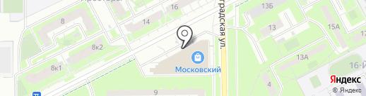 Эдельвейс на карте Кемерово
