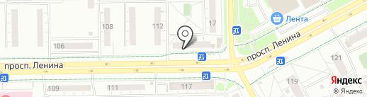 Ювелирная мастерская на карте Кемерово