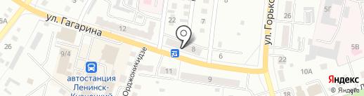 Натали на карте Ленинска-Кузнецкого