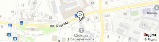 Продуктовая лавка на карте Ленинска-Кузнецкого