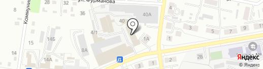 Формат на карте Ленинска-Кузнецкого