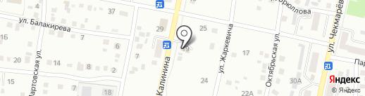 Калина на карте Ленинска-Кузнецкого