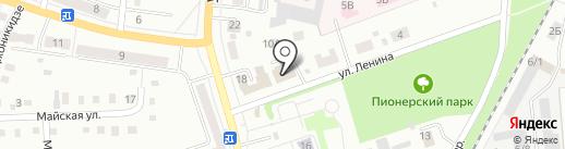 Мемориальная компания на карте Ленинска-Кузнецкого