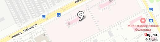 Кемеровский областной клинический противотуберкулезный диспансер на карте Кемерово