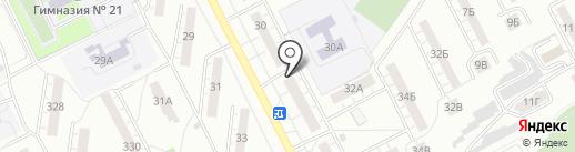 Магазин разливных напитков на карте Кемерово