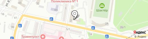 ТТ на карте Ленинска-Кузнецкого