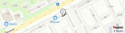 Логос на карте Кемерово