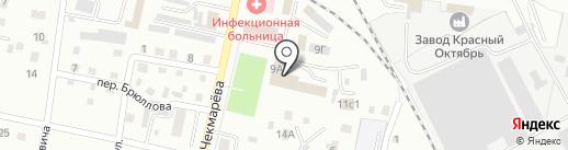 Торгово-сервисный центр на карте Ленинска-Кузнецкого
