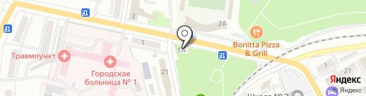 Сладко & Весело на карте Ленинска-Кузнецкого