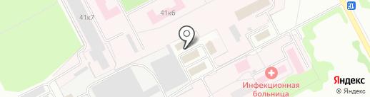КемПК на карте Кемерово