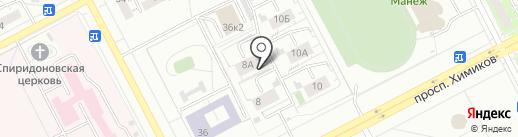 Студия восточного танца на карте Кемерово