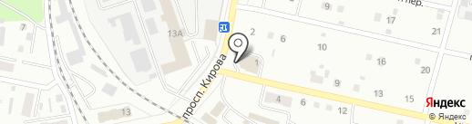 Магазин рыболовных принадлежностей на карте Ленинска-Кузнецкого