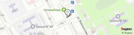 Кумитэ на карте Кемерово