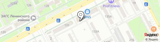 Ермолинские полуфабрикаты на карте Кемерово