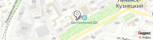ДЮСШ №4 на карте Ленинска-Кузнецкого