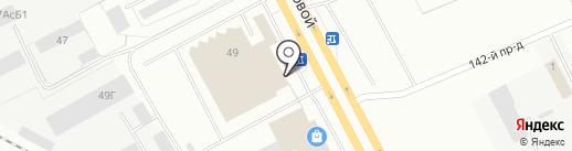 Банкомат, Газпромбанк на карте Кемерово