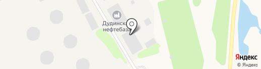 Таймырская топливная компания на карте Дудинки