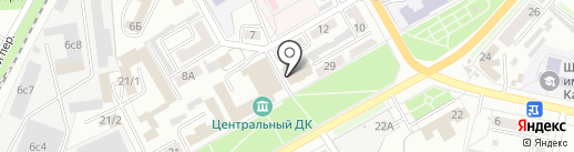 Столовая на карте Ленинска-Кузнецкого