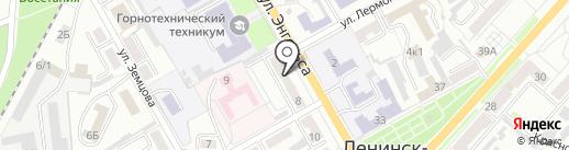 Фотоцентр на карте Ленинска-Кузнецкого