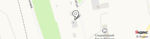 Каравай на карте Дудинки