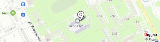Надежда на карте Кемерово