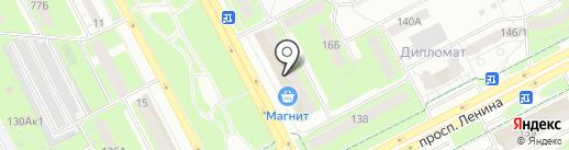 Перископ на карте Кемерово