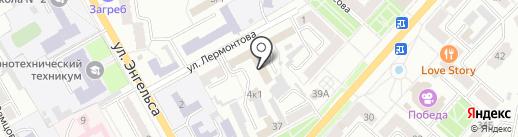 УВД г. Ленинск-Кузнецкого на карте Ленинска-Кузнецкого