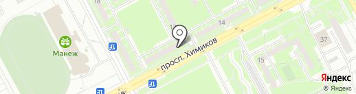 Нова вита на карте Кемерово