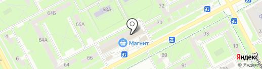 Офисные мелочи на карте Кемерово