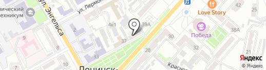 Флоренция на карте Ленинска-Кузнецкого