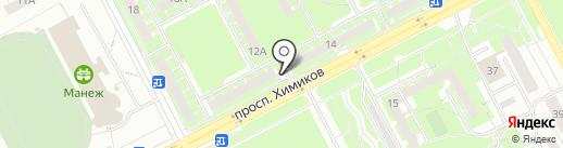 Феникс на карте Кемерово