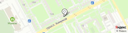 Стекло-Строй на карте Кемерово