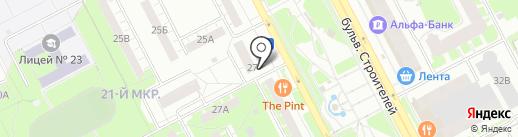 KONTUR на карте Кемерово