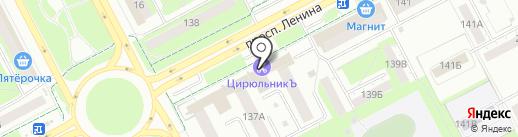 Atak на карте Кемерово
