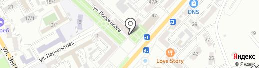 Ростелеком, ПАО на карте Ленинска-Кузнецкого