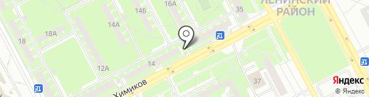 Мобильная мастерская на карте Кемерово