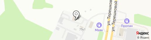 Моя Усадьба на карте Кемерово