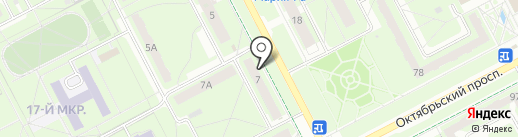 Бочковое на карте Кемерово