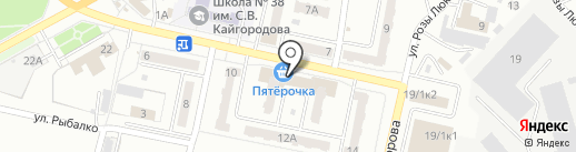 Магазин по продаже подшипников на карте Ленинска-Кузнецкого