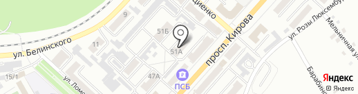 УФМС на карте Ленинска-Кузнецкого