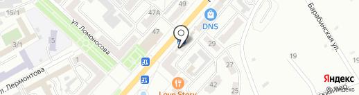 Фармакопейка на карте Ленинска-Кузнецкого